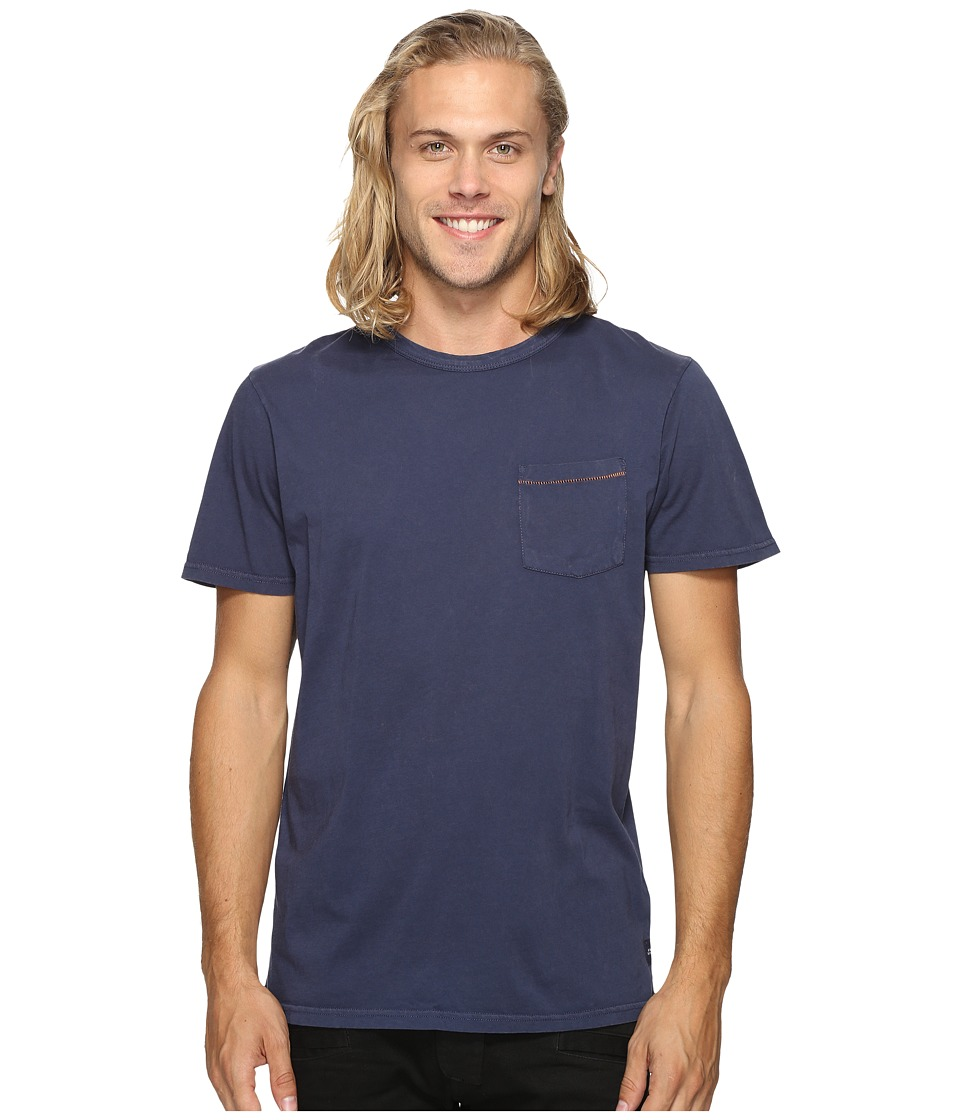 Roark - Well Worn Laundered Pocket Tee (Navy) Men's T Shirt
