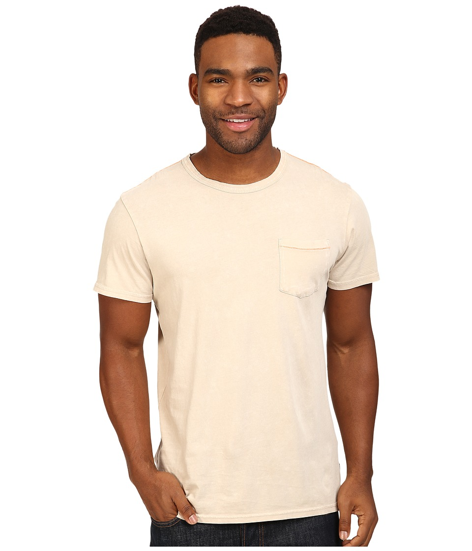 Roark - Well Worn Laundered Pocket Tee (Off-White) Men's T Shirt