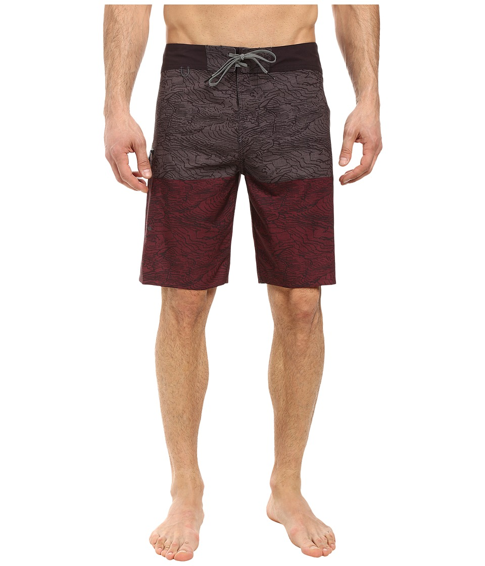 Roark - Savage Boardshorts (Port) Men's Swimwear