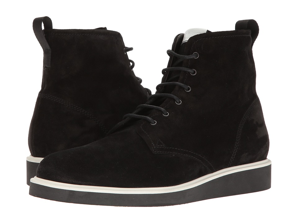 rag & bone - Elliot Lace Boot (Black Waxy 1) Men's Lace-up Boots