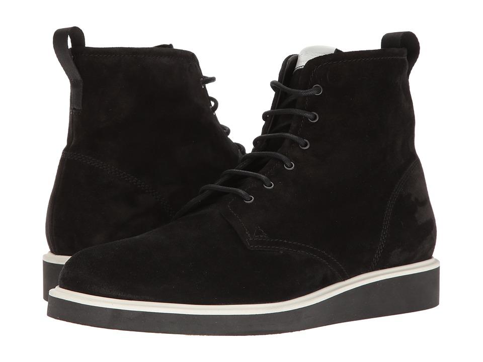 rag & bone Elliot Lace Boot (Black Waxy 1) Men