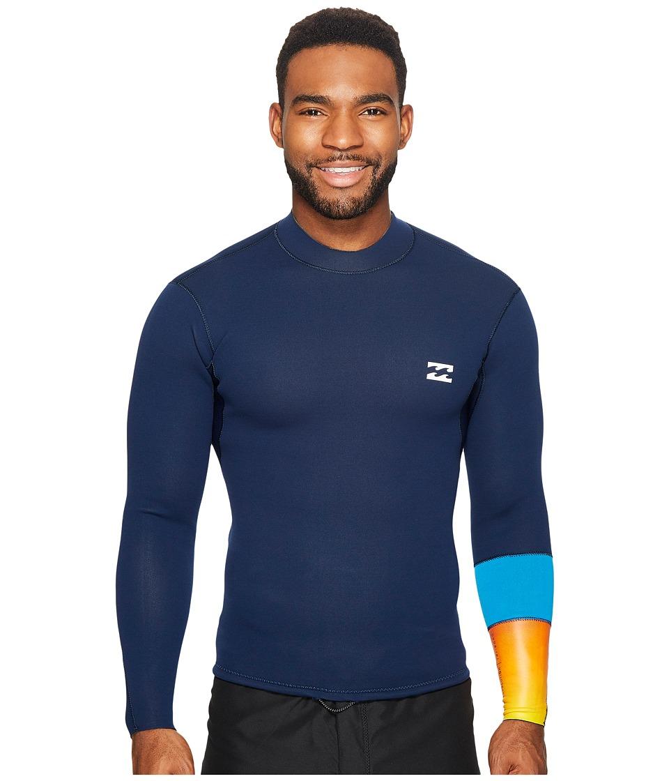 Billabong 202 Revolution Tri Bong Long Sleeve Jacket (Ink) Men