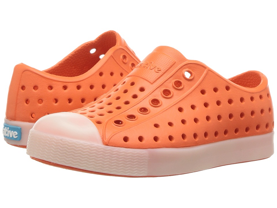 Native Kids Shoes - Jefferson Glow (Toddler/Little Kid) (La Flame Orange Glow) Kids Shoes