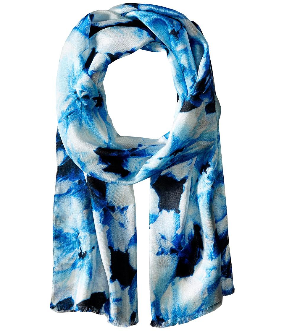 Calvin Klein - Tie-Dye Slub Infinity (Atlantis) Scarves