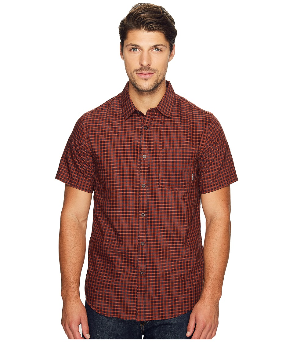 Billabong - Lennox Woven Top (Red) Men's Clothing