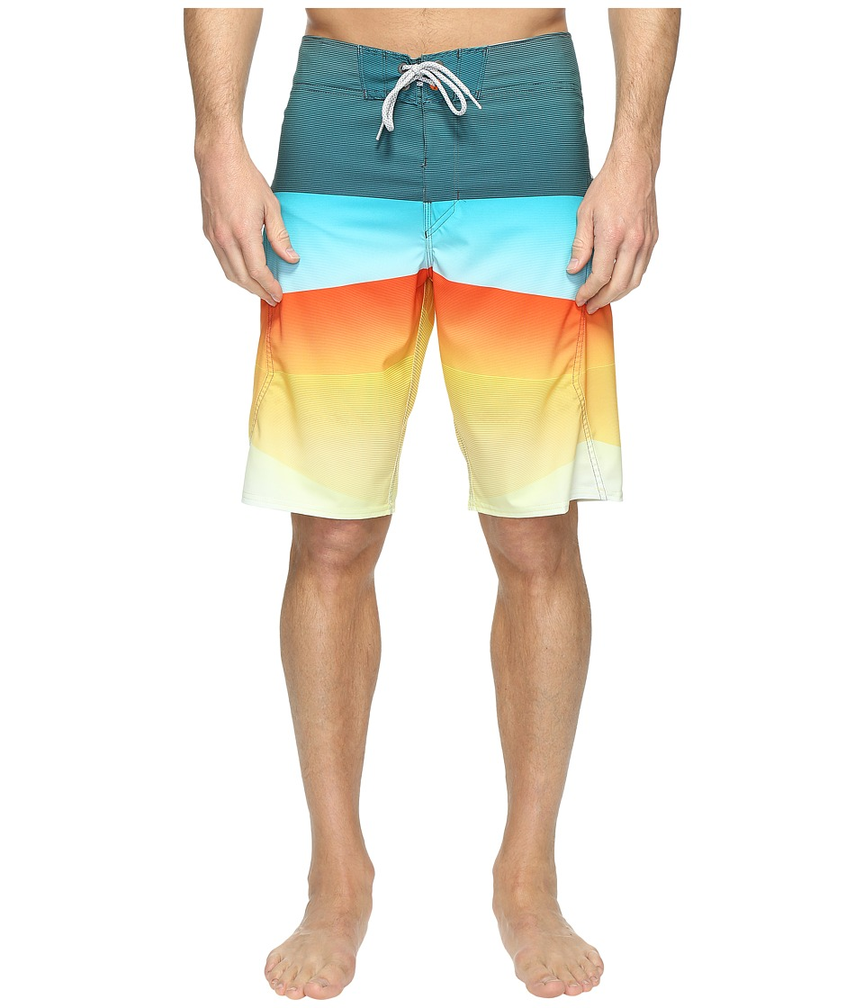 Billabong - Revolver X Boardshorts (Neon Yellow) Men's Swimwear