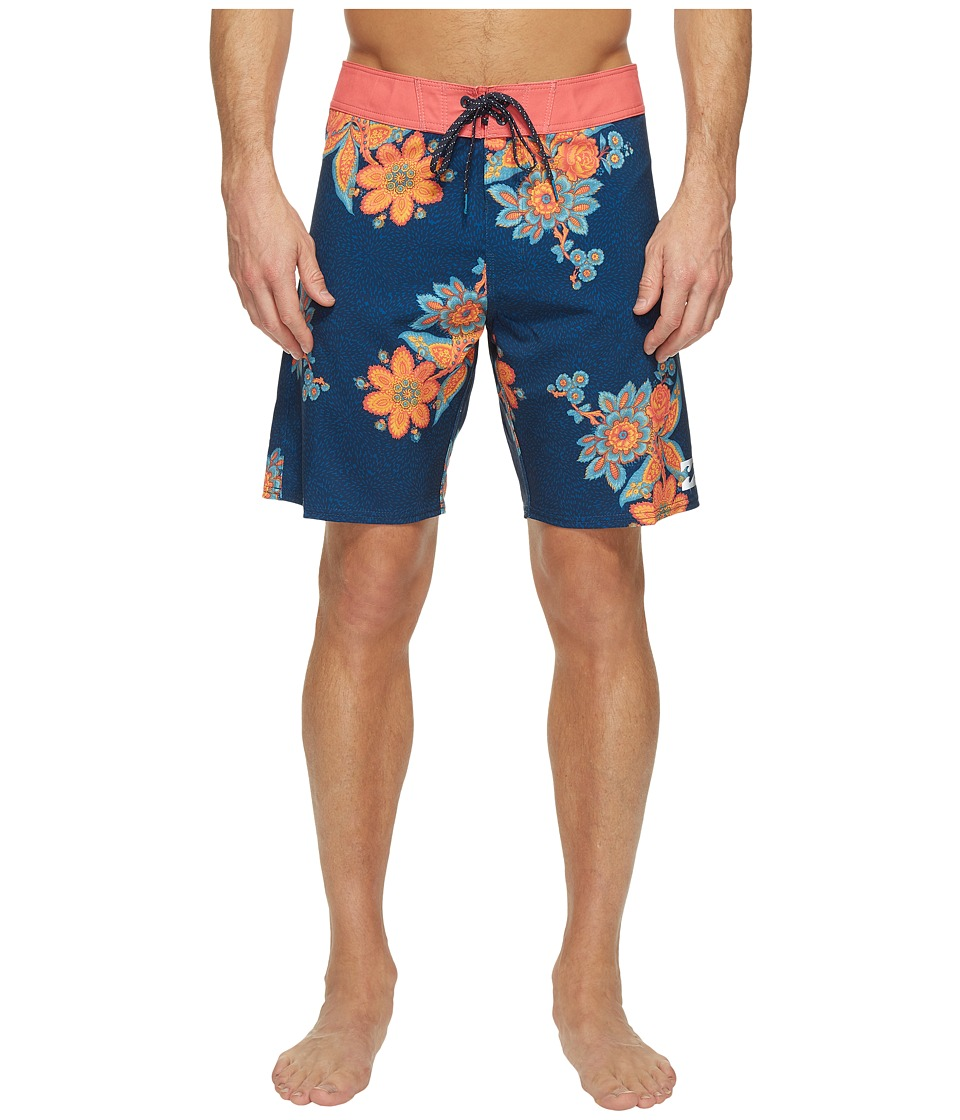 Billabong - Sundays X Boardshorts (Blue) Men's Swimwear