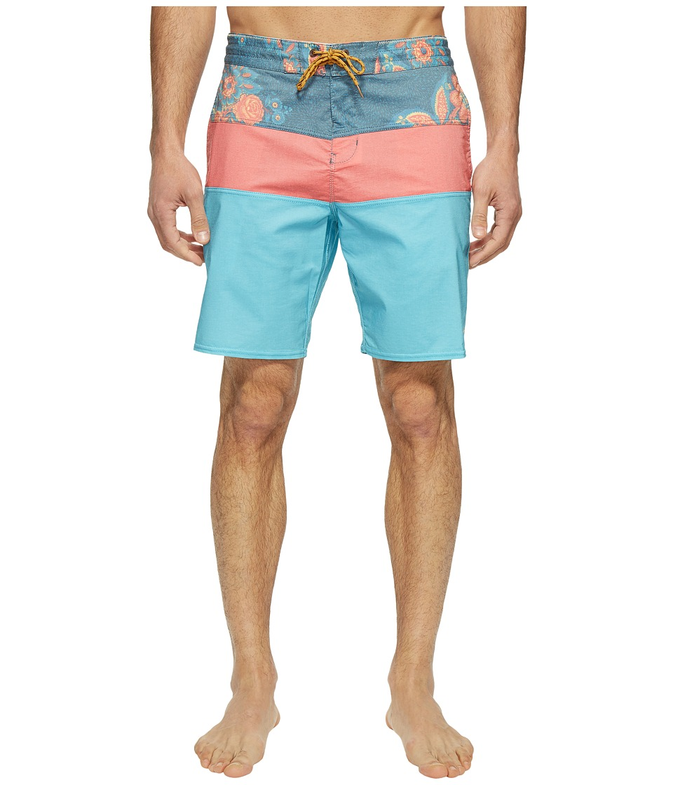 Billabong - Tribong Lo Tide Boardshorts (Blue) Men's Swimwear