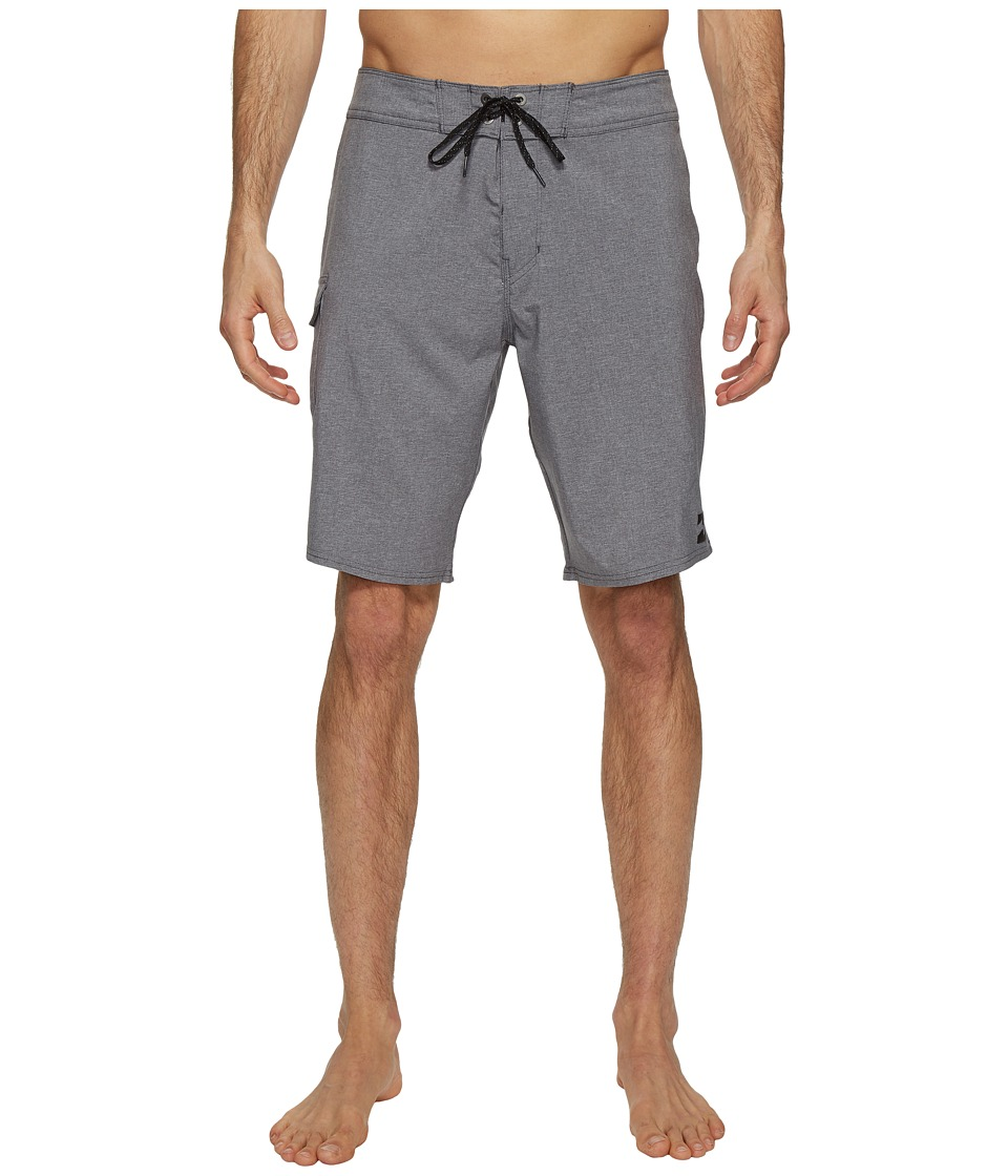 Billabong - All Day X Boardshorts (Charcoal Heather) Men's Swimwear