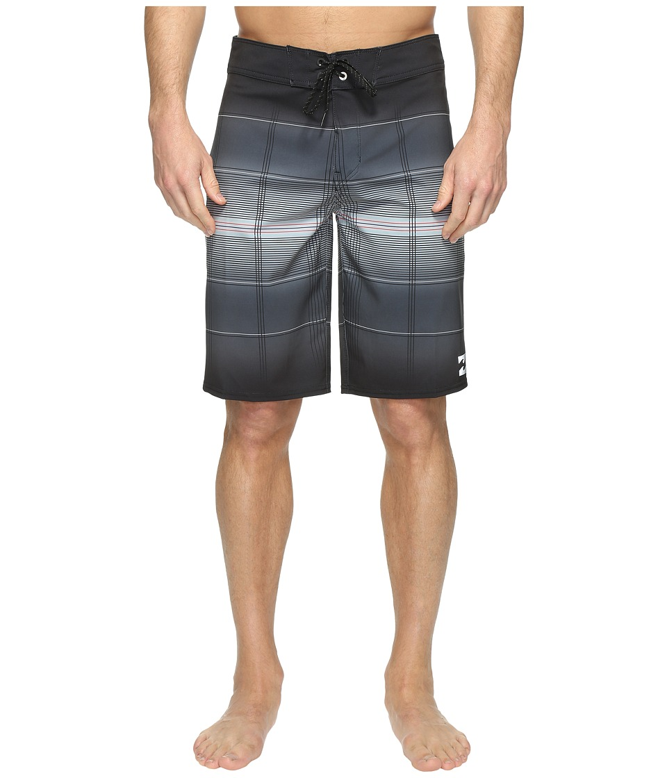 Billabong All Day X Plaid Boardshorts (Black) Men