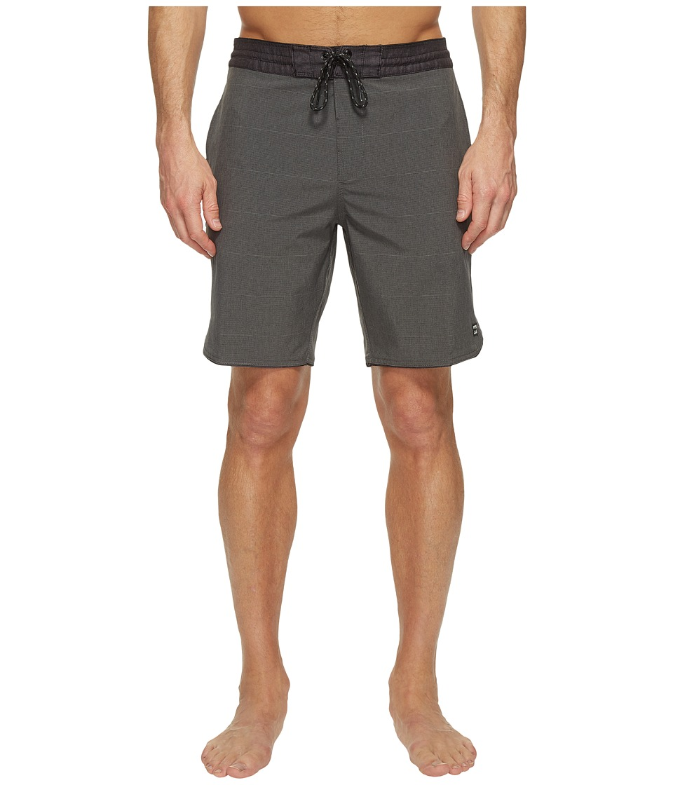 Billabong 73 Lo Tide Boardshorts (Asphalt) Men