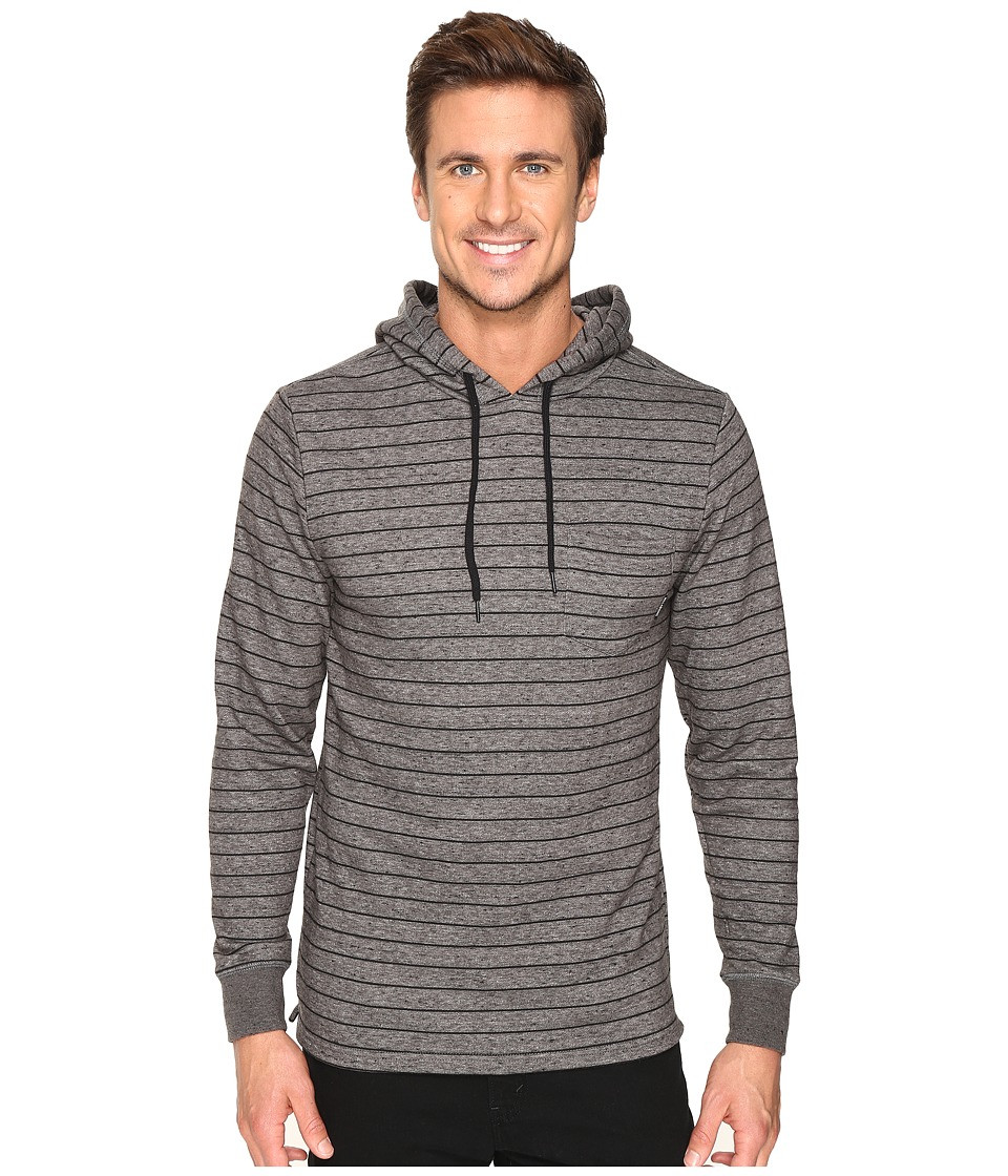 Billabong - Waterline Pullover Hoodie (Black) Men's Sweatshirt