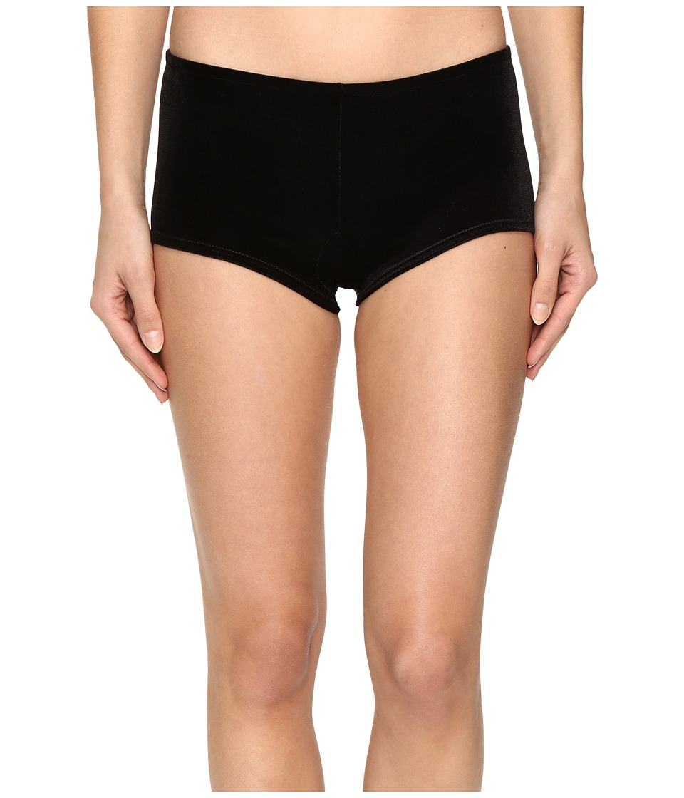 Only Hearts - Velvet Underground Heart Back Hipster (Black) Women's Underwear