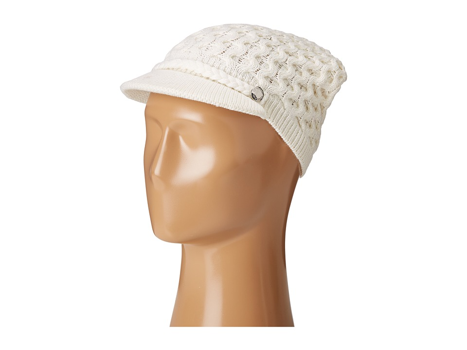 Calvin Klein - Honeycomb Cable Cabbie (Cream) Knit Hats