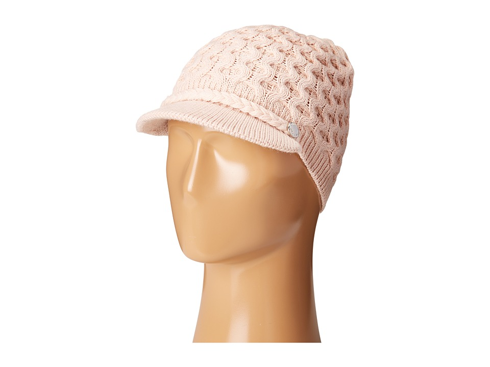 Calvin Klein - Honeycomb Cable Cabbie (Blush) Knit Hats