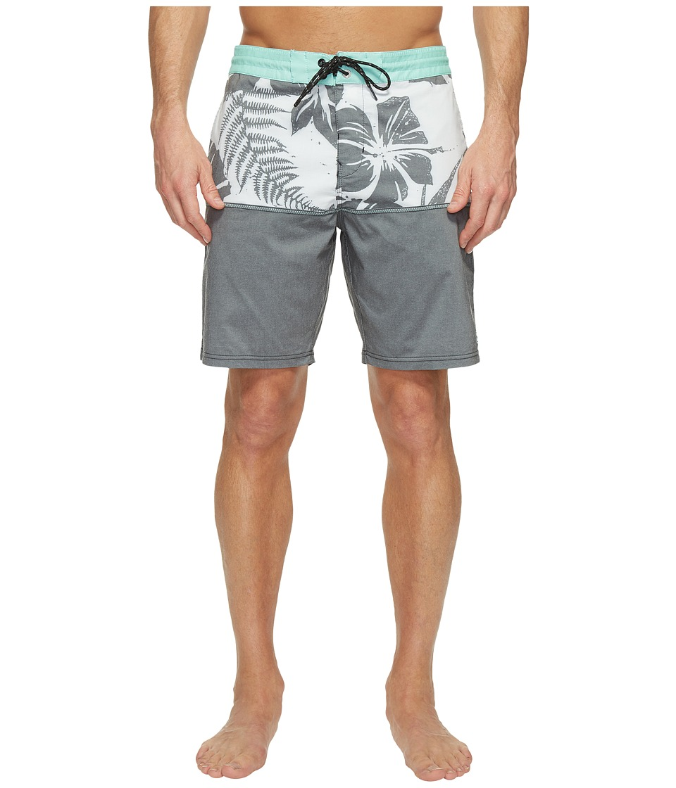 Billabong - Fifty 50 Lo Tide Boardshorts (Black) Men's Swimwear