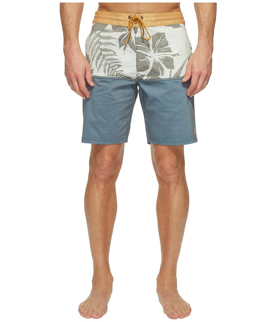 Billabong - Fifty 50 Lo Tide Boardshorts (Navy) Men's Swimwear