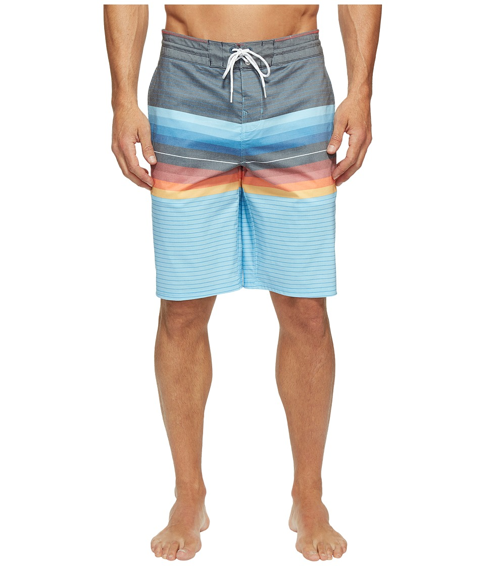 Billabong - Spinner 21 Lo Tide Boardshorts (Blue) Men's Swimwear