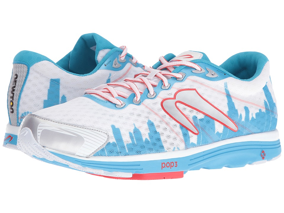 Newton Running - Aha II Chicago 16 (Blue/White) Running Shoes