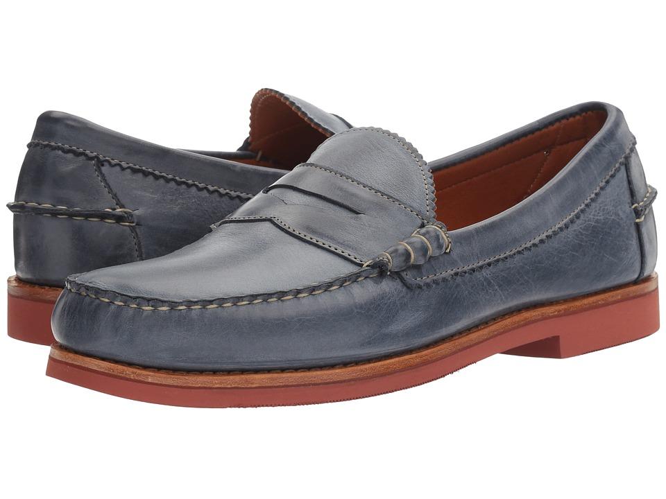 Allen Edmonds - Sedona (Navy Leather) Men's Slip-on Dress Shoes