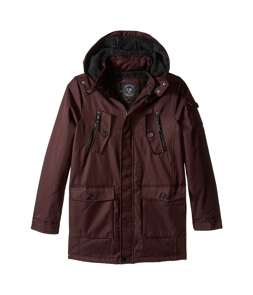 Urban Republic Kids - Sherpa Lined Ballistic Coat (Big Kids) (Fig 2) Boy's Coat