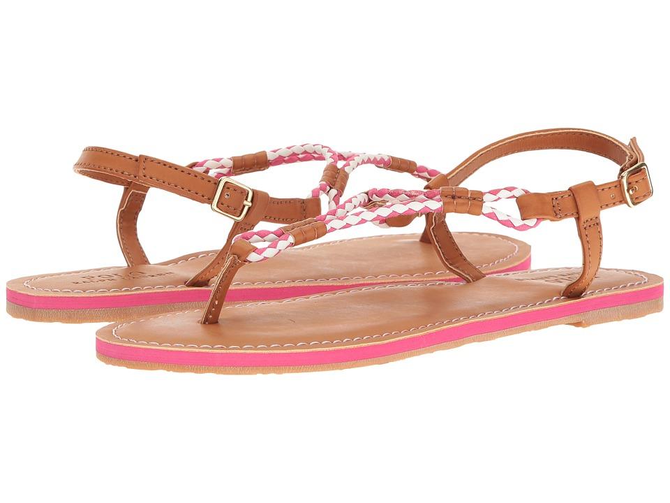 Polo Ralph Lauren Kids Alexis (Little Kid/Big Kid) (Fuchsia Oxford Cloth) Girls Shoes