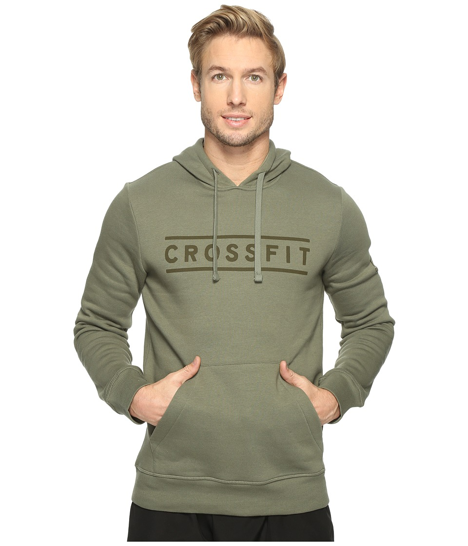 Reebok - CrossFit Virtuosity Hoodie (Hunter Green) Men's Sweatshirt