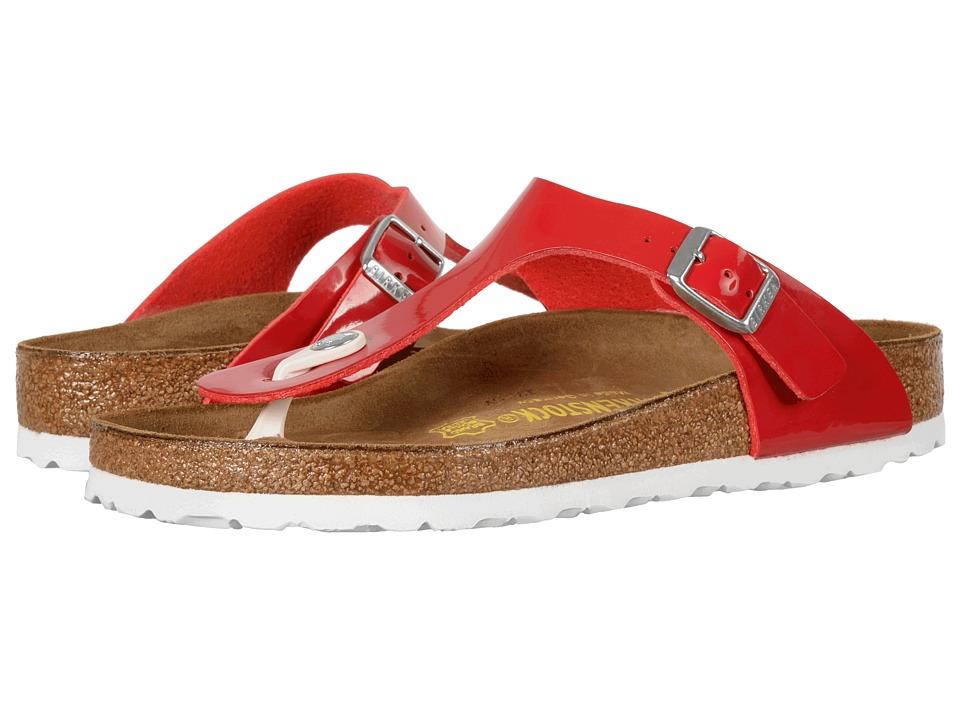 Birkenstock - Gizeh (Tango Red Birko-Flor) Women's Sandals