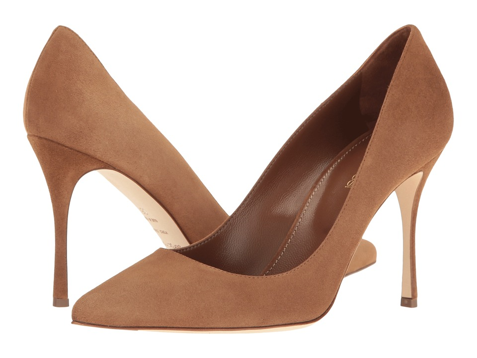 Sergio Rossi - Godiva (Brown Suede) High Heels