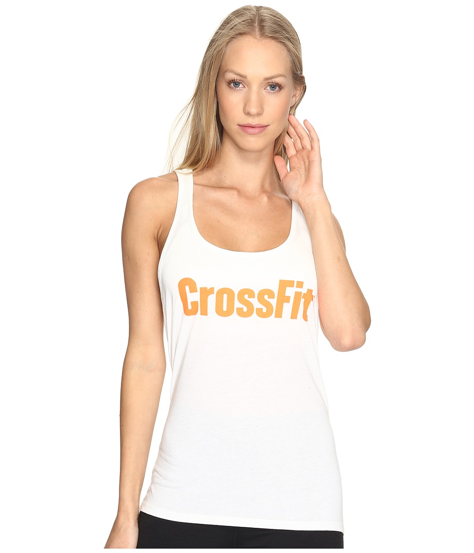 Reebok - CrossFit Forging Elite Fitness Tank Top (Chalk) Women's Sleeveless