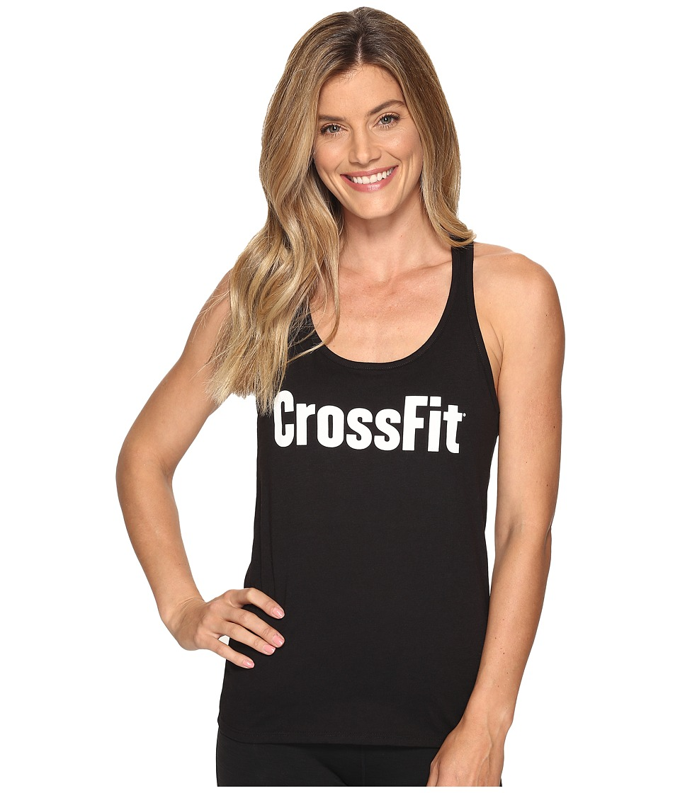 Reebok - CrossFit Forging Elite Fitness Tank Top (Black) Women's Sleeveless