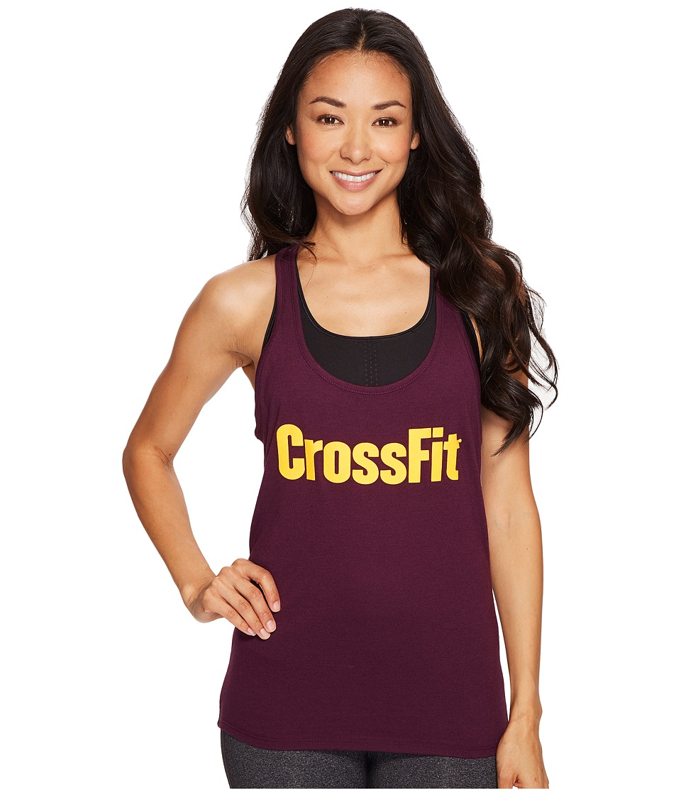 Reebok - CrossFit Forging Elite Fitness Tank Top (Pacific Purple) Women's Sleeveless