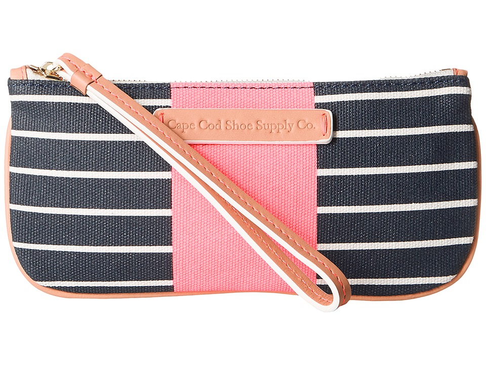 Cape Cod Shoe Supply - Kit (Navy Stripe) Handbags