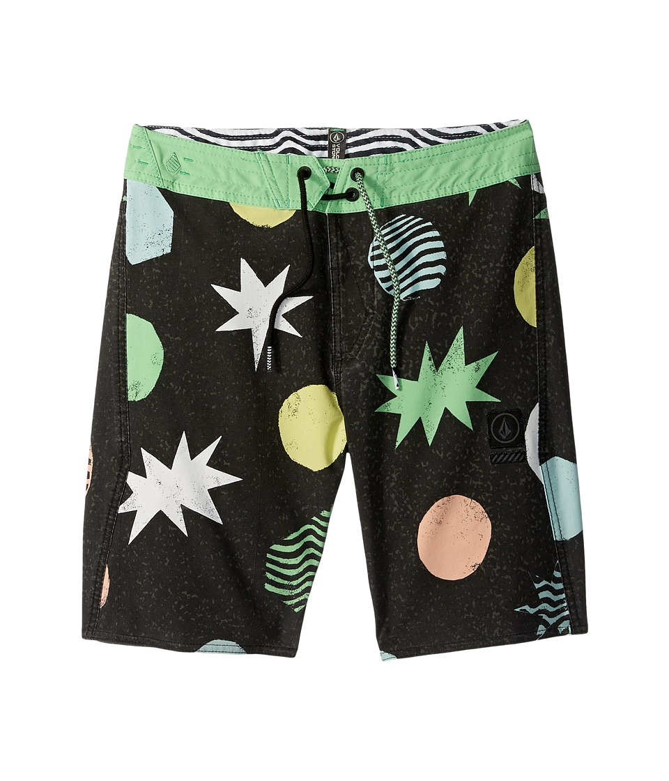 Volcom Kids Polka Slinger Boardshorts (Big Kids) (Multi) Boy