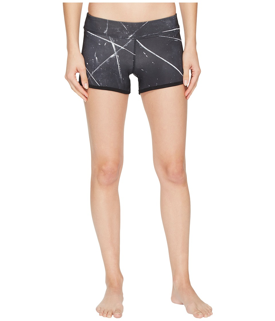 Reebok - CrossFit Reversible Chase Booty Shorts (Black) Women's Shorts