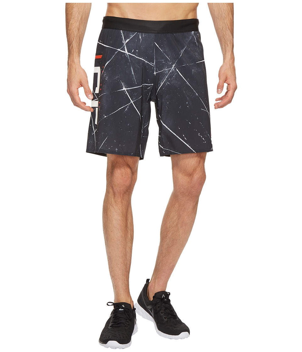 Reebok - Super Nasty Speed Shorts (Black) Men's Shorts