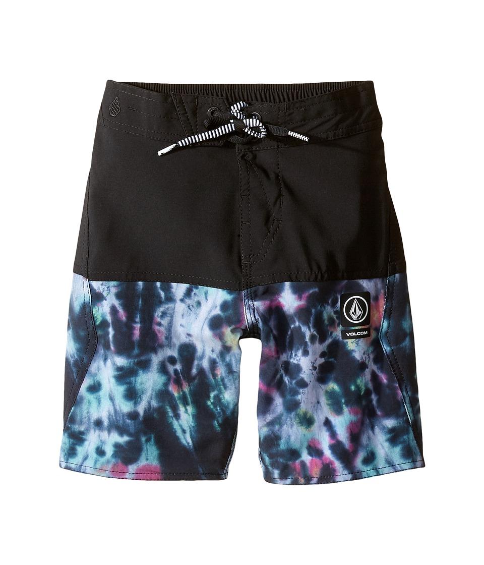 Volcom Kids - Vibes Jammer Boardshorts (Little Kids/Big Kids) (Multi) Boy's Swimwear