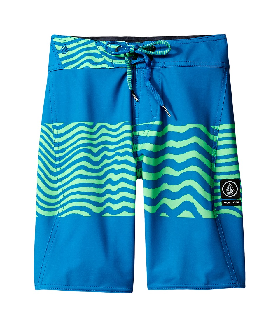 Volcom Kids Macaw Mod Boardshorts (Big Kids) (Poison Green) Boy