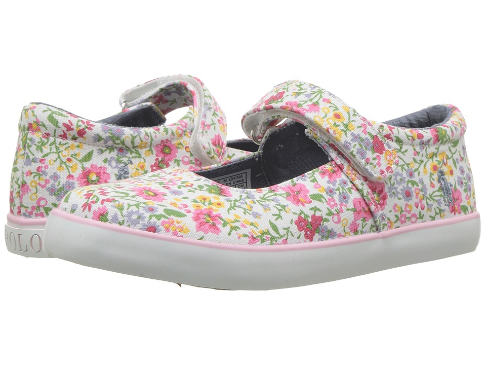 Polo Ralph Lauren Kids - Pippa (Little Kid) (Wildflower/Pink PP) Girl's Shoes