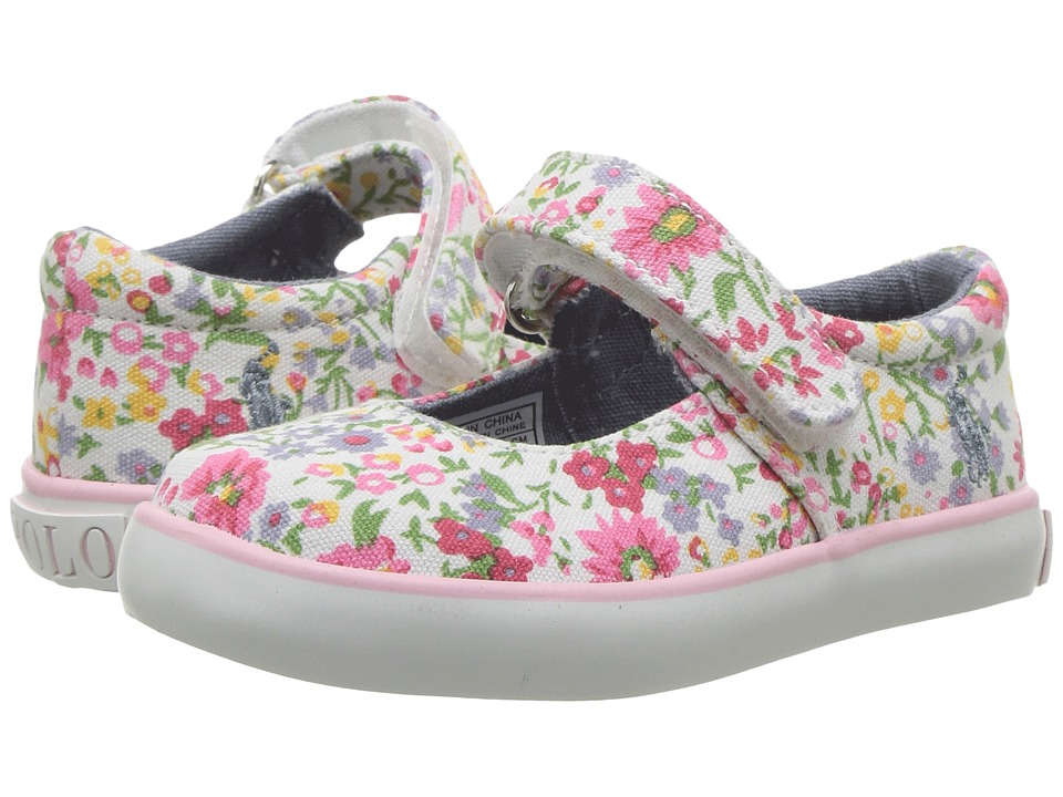 Polo Ralph Lauren Kids - Pippa (Toddler) (Wildflower/Pink PP) Girl's Shoes
