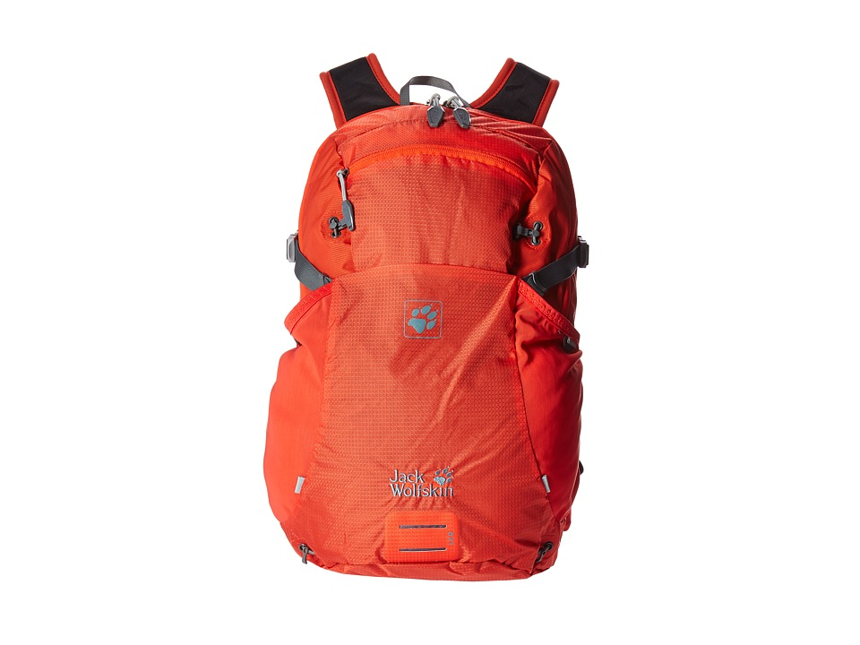 Jack Wolfskin - Moab Jam 18 (Lobster Red) Backpack Bags