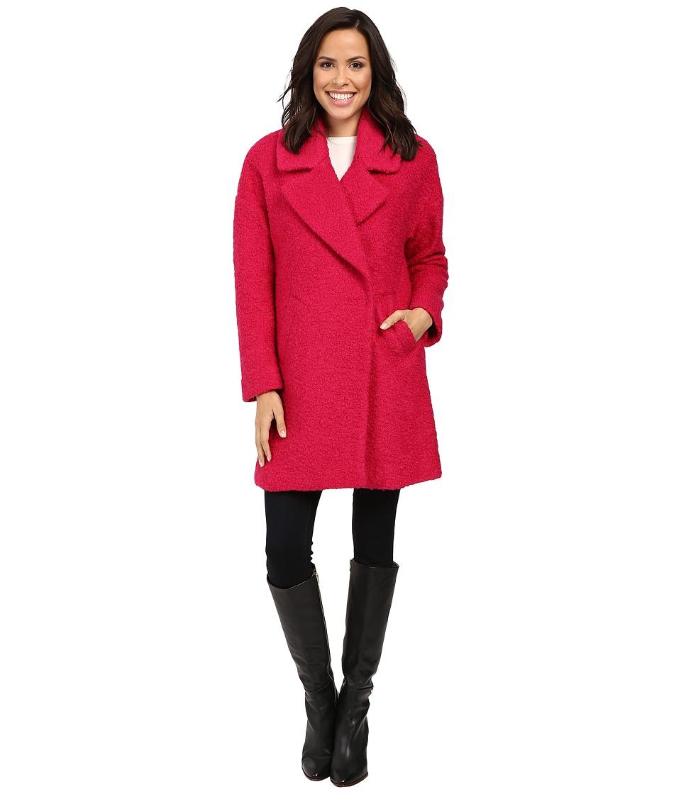 Betsey Johnson - Teddy Wool (Pink Tourmaline) Women's Coat