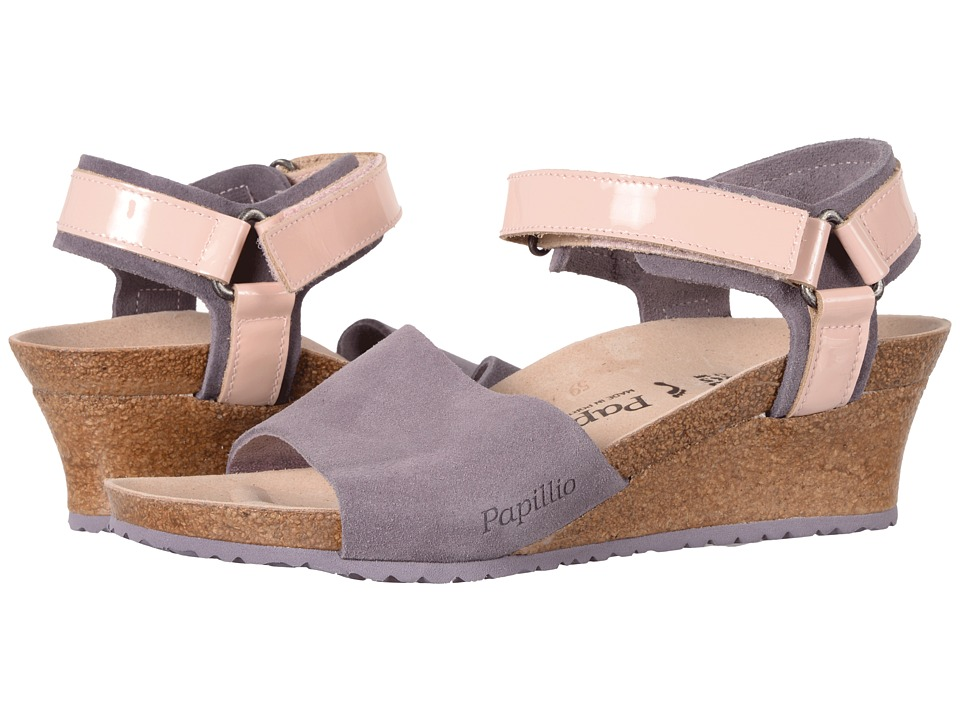 Birkenstock - Eve (Lilac Suede) Women's Shoes