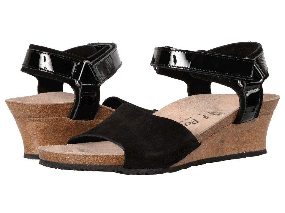 Birkenstock - Eve (Black Suede) Women's Shoes