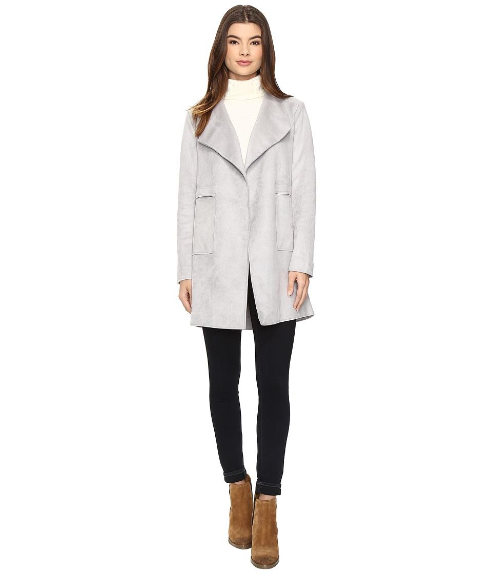 Brigitte Bailey - Sonnet Coat (Light Grey) Women's Coat