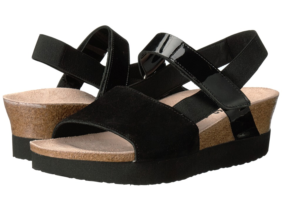 Birkenstock - Linda (Black Suede Leather) Women's Shoes