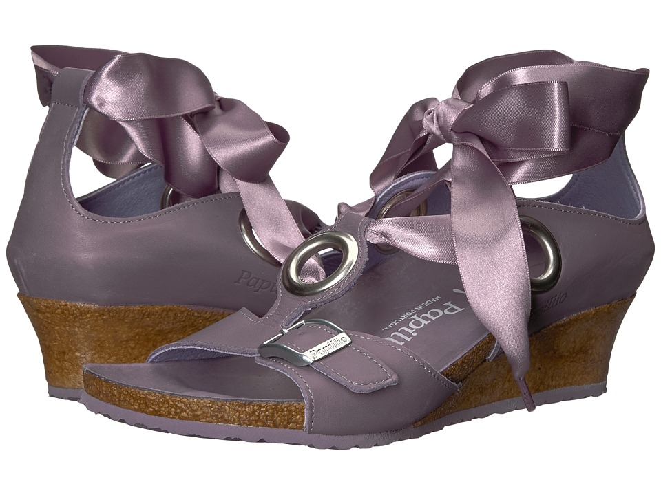 Birkenstock - Emmy (Lilac Leather) Women's Shoes
