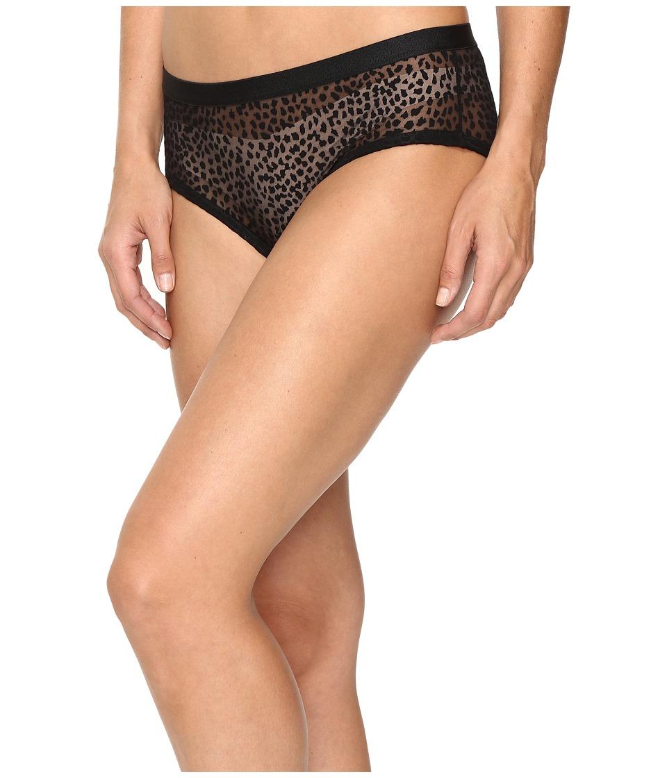 Cosabella - Ziegfeld Intimates Hotpants (Black Burnout/Black) Women's Underwear