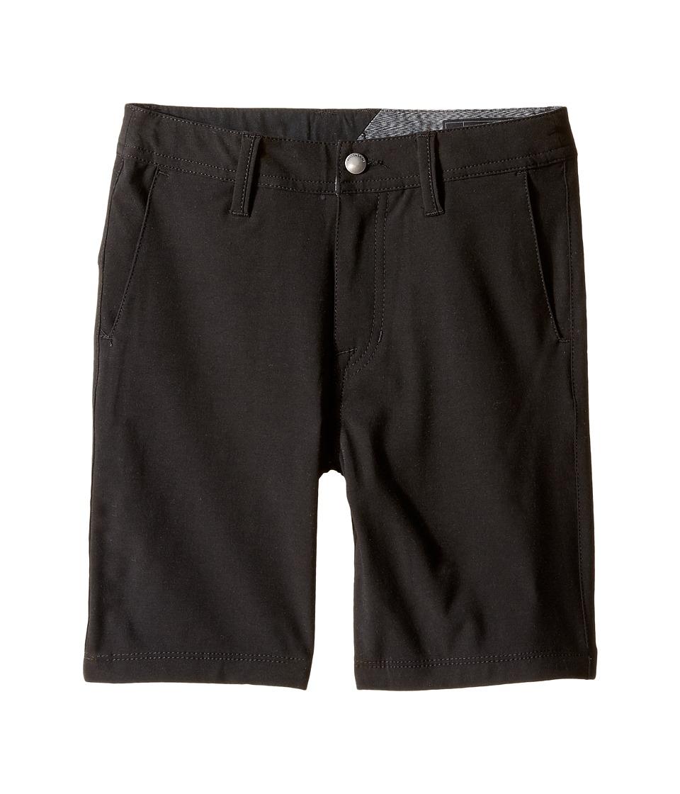 Volcom Kids - Frickin SNT Static Shorts (Toddler/Little Kids) (Black Out) Boy's Shorts