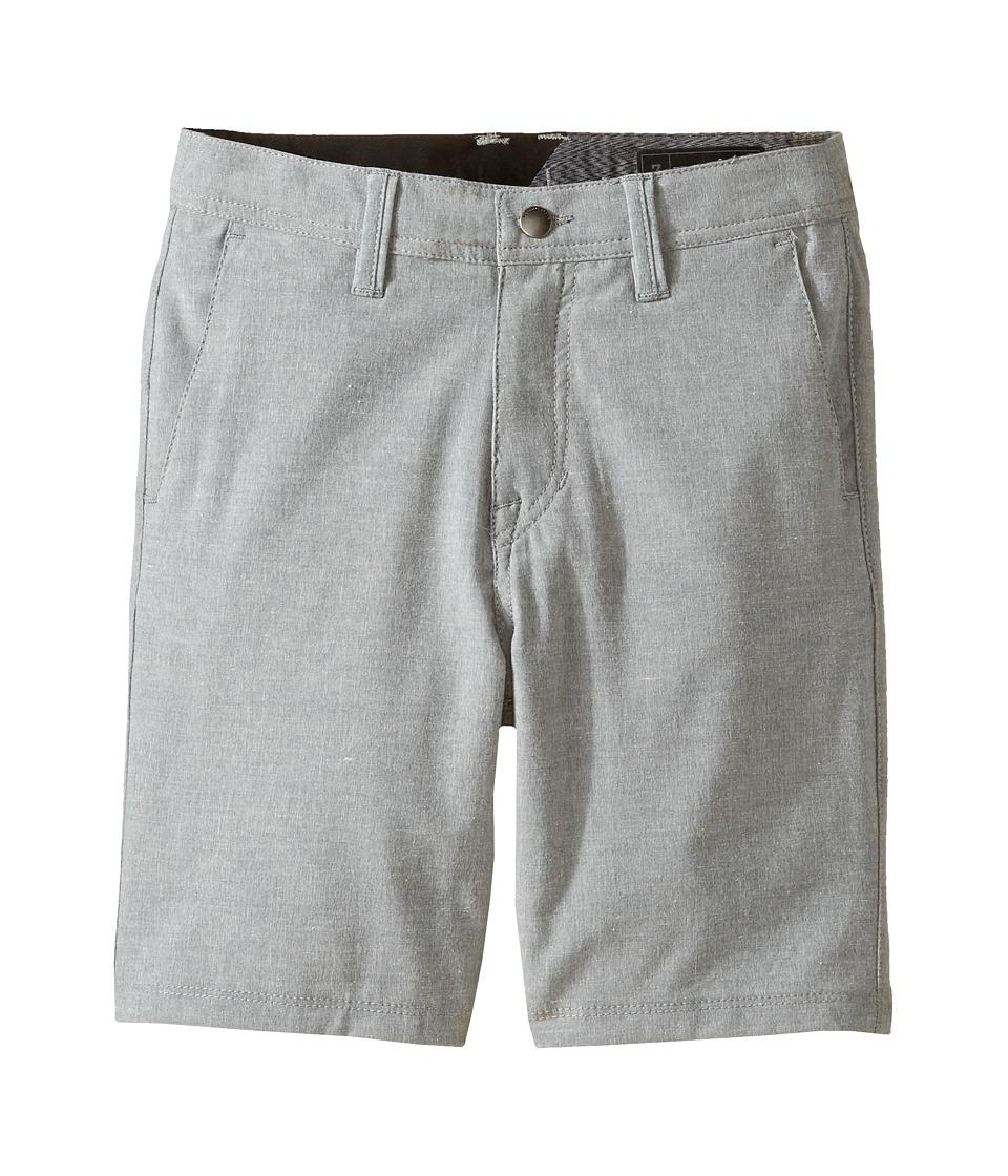 Volcom Kids - Frickin SNT Static Shorts (Toddler/Little Kids) (Pewter) Boy's Shorts